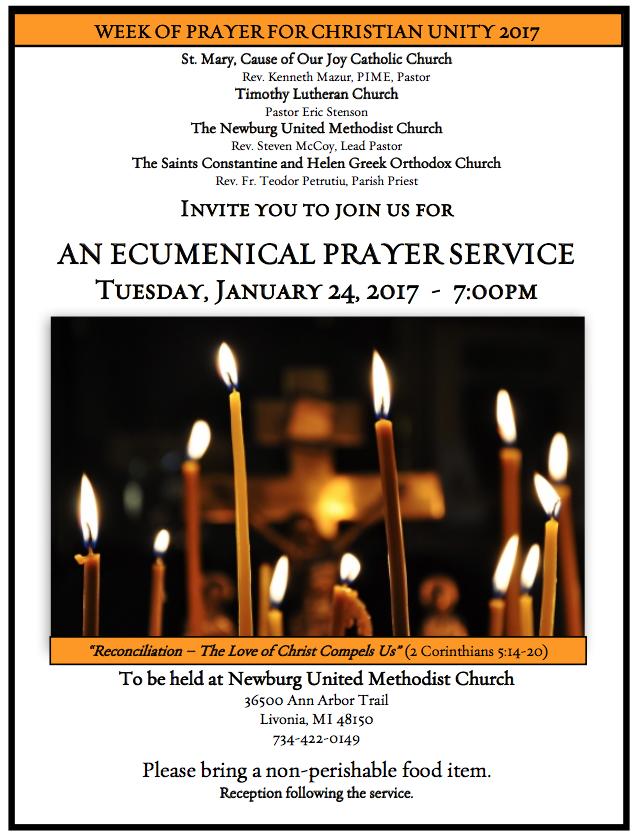 catholic prayer service