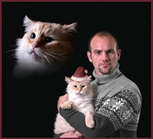 Snowflake_Sweater_Floating_Cat_Head_Cat_Family_Portrait