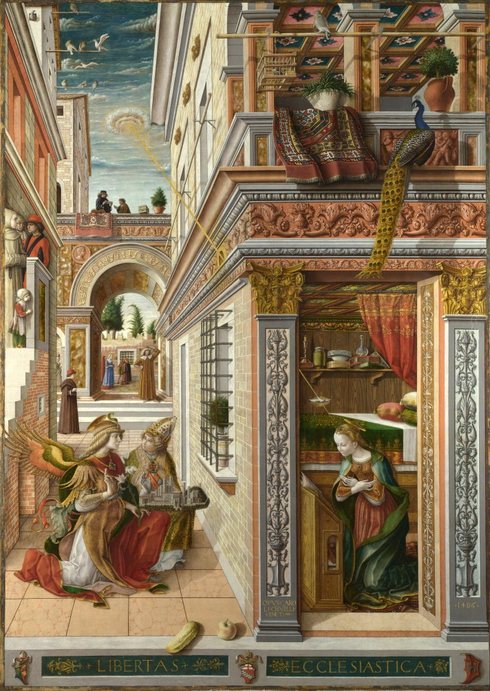 The Annunciation By Carlo Crivelli